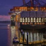 Containerhafen am Burchardkai