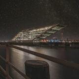 Dockland Sternenhimmel