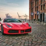 Ferrari am Fischmarkt