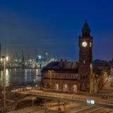 Hamburg Hafen Blick